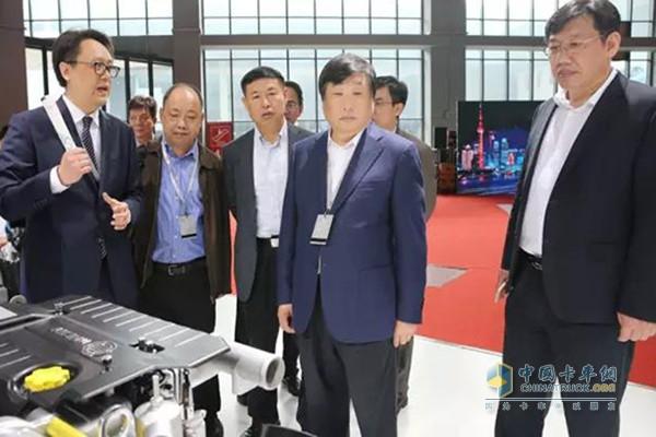 山东重工潍柴集团董事长谭旭光车展讲话