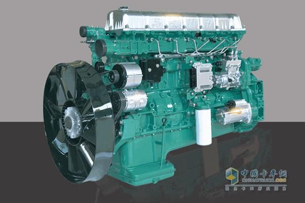 锡柴奥威发动机刷新中国6×4牵引车满载下发动机油耗新纪录