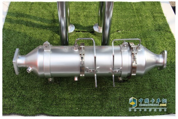 一汽解放锡柴DPF装置