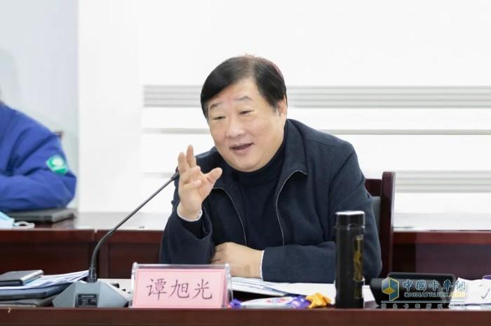 山東重工集團、濰柴集團董事長譚旭光